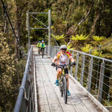 Adventure South NZ - West Coast Wilderness Cycle