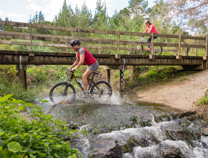 Adventure on the Twin Coast Cycle Trail