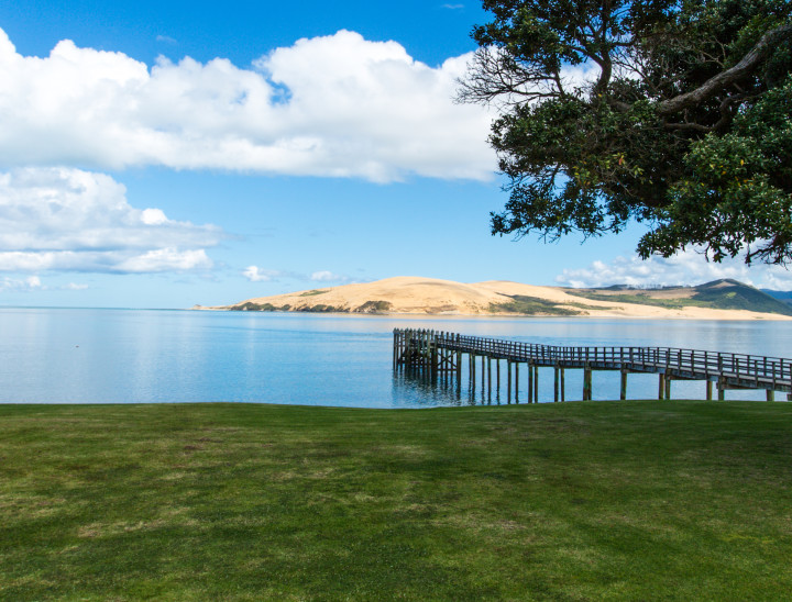 Hokianga Harbour view from accommodation